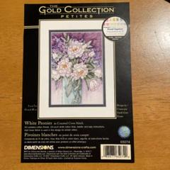 """Thumbnail of """"White Peonies DIMENSIONS GOLD CLLECTION"""""""