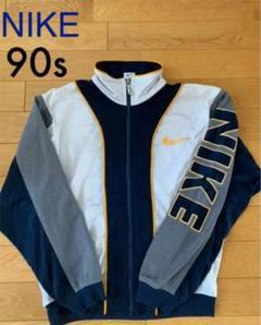 90s NIKE ナイキ 銀タグ 袖ロゴ ジャージ ナイロンジャケット