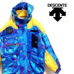 "Thumbnail of ""【激レア】DESCENTE デサント 80s スキーウェア スノボ ド派手"""