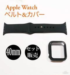 "Thumbnail of ""アップルウォッチ バンド  ラバーベルト Apple Watch ブラック"""