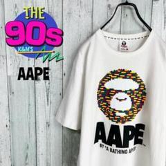 """Thumbnail of """"大人気 AAPE エーアベイシングエイプ LEGOブロックロゴ ゆるだぼTシャツ"""""""