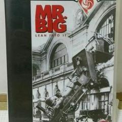 "Thumbnail of ""MR.BIG  DVD   LEAN INTO IT"""