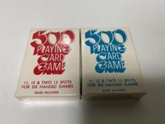 "Thumbnail of ""500 PLAYINGCARDS OHIO オハイオ製 赤青 新品 2デック"""