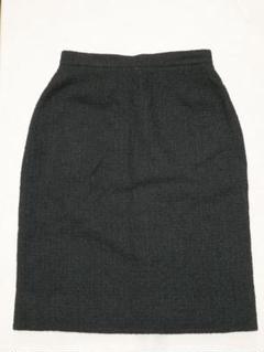 シャネル ブティック スカート タイト ツイード サイズ40 #4482P