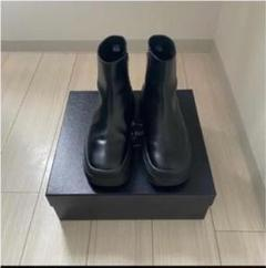 """Thumbnail of """"prada black leather ankle boots 9.5 28.5"""""""