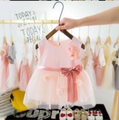 "Thumbnail of ""女の子ドレス ピンク 海外サイズ18M~24M  日本90サイズ"""
