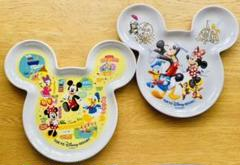 "Thumbnail of ""Disney ディズニー ミッキー ランチプレート 2枚"""
