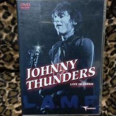 "Thumbnail of ""Johnny Thunders Live in Japan/DVD"""