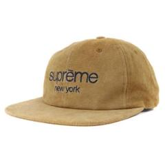 "Thumbnail of ""supreme Suede Classic Logo 6-Panel Cap"""