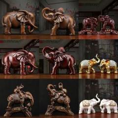 """Thumbnail of """"象の装飾品の幸運な風と水、タウンハウスクリエイティブポーチ工芸品の家の装飾8"""""""