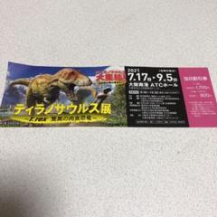 "Thumbnail of ""割引券 ティラノサウルス展 アインシュタイン展"""