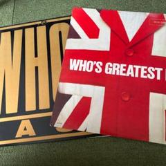 """Thumbnail of """"THE WHO LP レコード 2枚セット"""""""