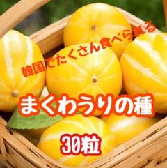 """Thumbnail of """"貴重!チャメ(韓国の瓜)まくわうりの種子30粒④"""""""