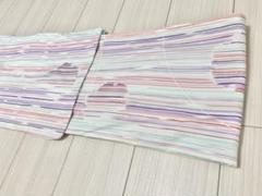 """Thumbnail of """"浴衣  ストライプ  波紋  ピンク  紫  水色  ゴールド"""""""