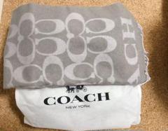 "Thumbnail of ""COACH コーチ coach マフラー ストール ショール F76384"""