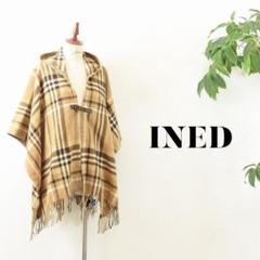 """Thumbnail of """"JJ008 美品 INED ポンチョ フリーサイズ ブラウン"""""""