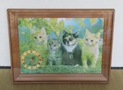 "Thumbnail of ""額 ガラス 大きい 飾り 時計 猫"""