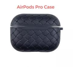 """Thumbnail of """"Airpods Pro case cover 高級感 レザー調 ブラック"""""""