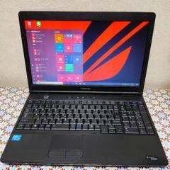 "Thumbnail of ""TOSHIBA 黒 ブラック ノートパソコン 本体 Windows10 SSHD"""