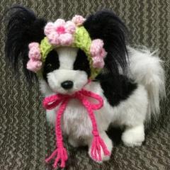 """Thumbnail of """"[お値下げ中]小型犬用ニット帽♥ひな祭り♥お花見"""""""