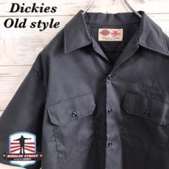 """Thumbnail of """"《激レア》ディッキーズ Dickies☆ワークシャツ L 刺繍 ブラック"""""""
