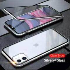 "Thumbnail of ""iPhone12、12proケース 全面保護 マグネット シルバー"""
