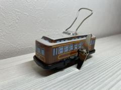 """Thumbnail of """"ブリキのおもちゃ復刻版(日本製)★なつかしの路面電車"""""""