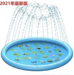 """Thumbnail of """"新品 噴水マット プレイマット 直径150CM 噴水池 水遊び ウォーター"""""""