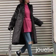 "Thumbnail of ""jouetie ロング フェイクファー コート"""