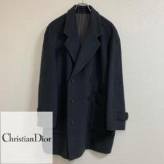 """Thumbnail of """"Christian Dior ディオール ウール ミドル丈 ダブル コート 古着"""""""