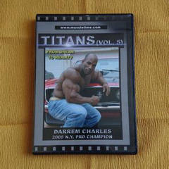 "Thumbnail of ""TAITANS vol.5  DARREM CHARLES ボディビルDVD"""