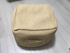"Thumbnail of ""ニトリ クッション プフブレイド"""