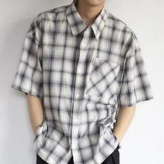 "Thumbnail of ""【美品】CREARE -LINO- チェック オーバーサイズシャツ Mサイズ"""
