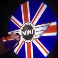 """Thumbnail of """"BMW MINI LED ドア プロジェクター  1個 UJ MINIロゴ"""""""
