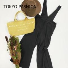 "Thumbnail of ""東京ファッション ジャンパーガウチョ サイズM ブラック オーバーオール ワイド"""