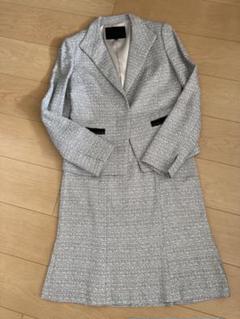アンタイトル ツイードスーツ