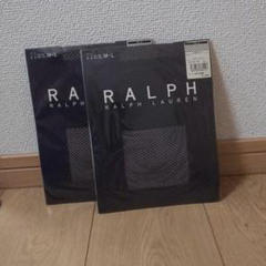 "Thumbnail of ""RALPH LAUREN 黒メッシュストッキング 2本セット"""