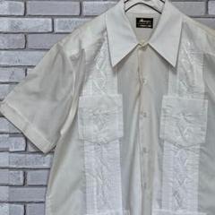 """Thumbnail of """"美品 Ranger 半袖キューバシャツ オープンカラー 刺繍入 ライトベージュL"""""""