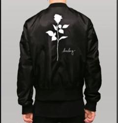 "Thumbnail of ""LONG CLOTHING Rose MA1 Jacket L 新品未使用"""