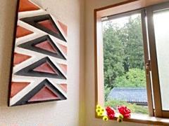 "Thumbnail of ""【匿名配送】モダンウォールアートパネル『強さ』 壁飾り 壁掛け イミゴンゴ"""