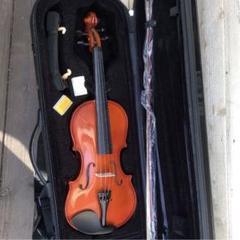 "Thumbnail of ""値下ヴァイオリン violin 4/4 バイオリン 美虎 黒 ハードケース"""
