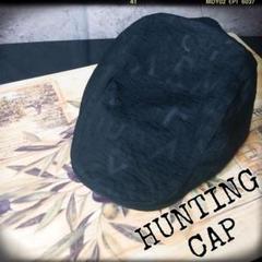 """Thumbnail of """"【新品】ハンチング帽 黒 ブラック ロゴ 英字 カジュアル シンプル おしゃれ"""""""