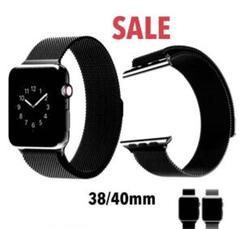 "Thumbnail of ""♧大好評♣︎ Apple Watch ミラネーゼバンド 38/40mm ブラック"""