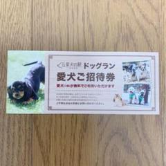 "Thumbnail of ""愛犬の駅 ドッグラン 愛犬(1頭)無料券"""