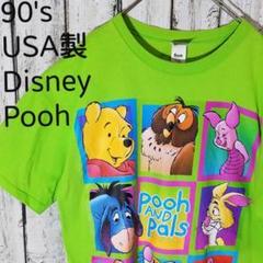 """Thumbnail of """"90's USA製 Pooh プーさん Disney ビッグプリントTシャツ3X"""""""