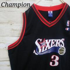 "Thumbnail of ""Champion NBA シクサーズ アイバーソン ゲームシャツ タンクトップ"""