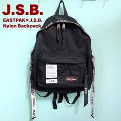 "Thumbnail of ""J.S.B. ロゴテープ リュック バックパック 黒 EASTPAK"""