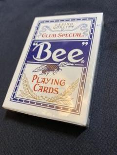 "Thumbnail of ""Bee club トランプ Playing Cards ブルー"""