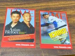 イチローTIME誌 アジア版カード二枚