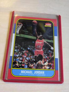 "Thumbnail of ""1986 Fleer マイケルジョーダン Reprint ルーキーカード"""